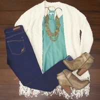 Soft As Cotton Cardigan $32.00
