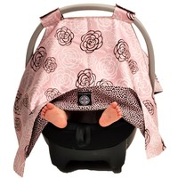 Pink Camelli Car Seat Canopy 311435347 | Stroller Car Seat Accessories | Strollers | Baby Gear | Burlington Coat Factory