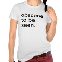 Women's obscene to be seen. have a great life