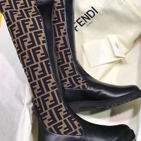 shosouvenir Fendi fashion casual boots