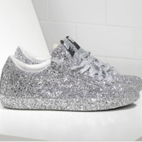 Converse Fashion Reflective Sneakers Sport Shoes Silver