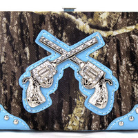 Camo Six Shooter Wallet