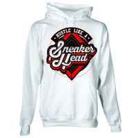 The Fresh I Am Clothing Sneakerhead White Hoodie