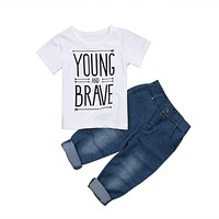 Young and Brave Baby Boy Set
