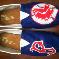 TOMS, Boston Red Sox, Women's Shoes, personalized shoes