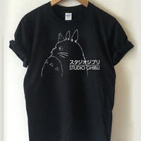 Studio Ghibli Inspired Totoro T-shirt Men, Women and Youth