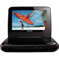 """Philips 7"""" Lcd 2-hour Playback Portable Dvd Player"""