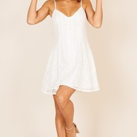 Runaway To The City dress in white Produced By SHOWPO
