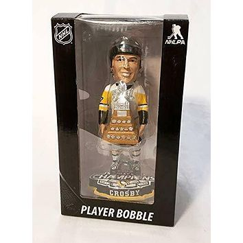 Sidney Crosby Pittsburgh Penguins Conn Symthe Trophy Bobblehead by FOCO