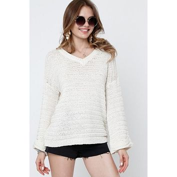 Be With You Ivory Sweater