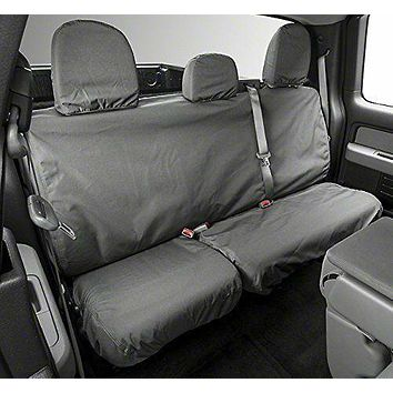 Covercraft SS8445WFGY SeatSaver SECOND ROW Seat Cover Waterproof (Grey)