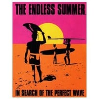 Endless Summer Surfing Movie Sign , 13x16 by Poster Discount