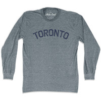 Toronto City Vintage Long Sleeve T-Shirt