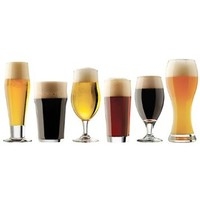 Libbey Craft Brews Assorted Beer Glass Set - 6 Pieces