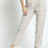 Cropped Clueless Tartan Pants