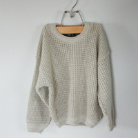 Chunky Knit Child's Sweater Size S