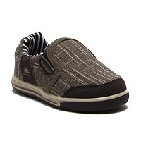 Boys 951-I Toddlers Slip On Canvas Sneakers Shoes