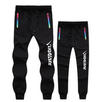 "(Couple ) Autumn Winter "" Nike "" Like Just Do It Fashion Print Thick Exercise Fitness Gym Yoga Running Harem Sweatpants  _ 9209"