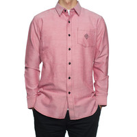 HUF - CLASSIC CHAMBRAY L/S // RED