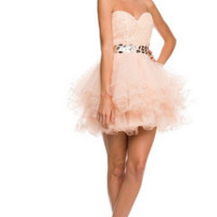 PRIMA Glitz GZ1502 Short Homecoming Cocktail Dress