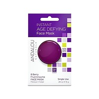 Andalou Naturals Mask Pod, Instant Age Defying - Pack of 6