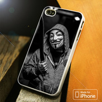 Anonymous Guy Fawkes Mask iPhone 4(S),5(S),5C,SE,6(S),6(S) Plus Case