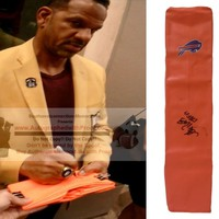 Andre Reed Autographed Buffalo Bills Full Size Football End Zone Touchdown Pylon, Proof Photo