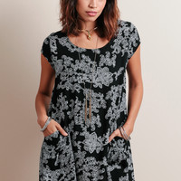 Date With Destiny Printed Dress