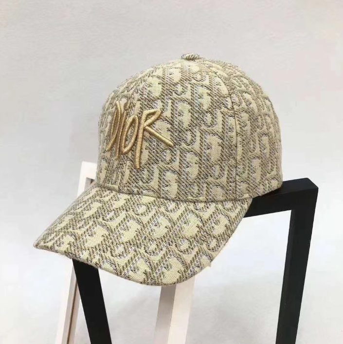 Image of DIOR Embroidery peaked cap