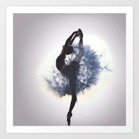 Dancer Art Print by Judy Hung