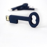 2GB USB Key Thumb Drive in Navy - Pop! Gift Boutique