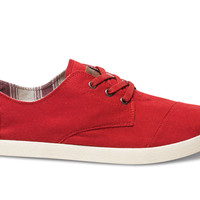 Red Canvas Men's Paseos US