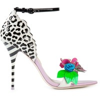 Sophia Webster Printed Embellished Stiletto Sandals - Soho-soho - Farfetch.com