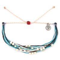 Pura Vida - Platinum Pearls Bracelet | Save The Orcas