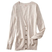 Mossimo Supply Co. Juniors Long Sleeve Boyfriend Cardigan - Assorted Colors