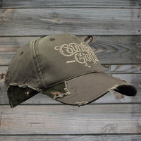 Country Girl ® Logo Frayed Camo Cap