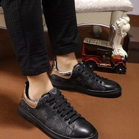 LV new men's casual single shoes
