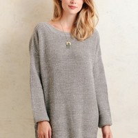 Daylight Chill Oversized Sweater Dress