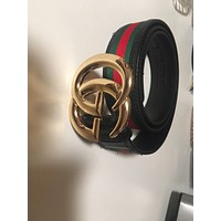 Authentic gucci belt men