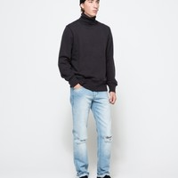 Our Legacy / Washed Black Sweat Turtle Neck