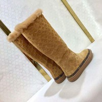 DCCK LV Louis Vuitton Women Fashion Leather Boots Shoes