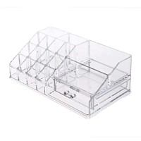 Clear Acrylic Cosmetic Organizer Box Makeup