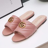 GUCCI Women Casual Fashion Sandal Slipper Shoes