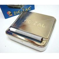 Metal Automatic Cigarette Tobacco Roller Roll Rolling Machine Box Case NEW Cigarette Boxes Accessories
