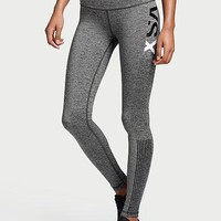 victoria s secret vsx fashion print exercise fitness gym yoga running leggings sweatpants