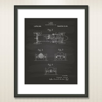 Automobile 1921 Patent Art Illustration - Drawing - Printable INSTANT DOWNLOAD - Get 5 Colors Background