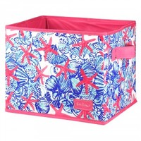 Lilly Pulitzer Medium Organizational Bin - She She Shells