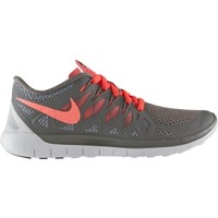 Nike Women's Free 5.0 Running Shoe - Light Grey/Hyper Punch/White | DICK'S Sporting Goods