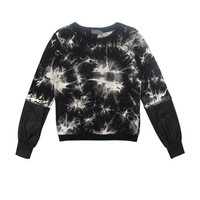 Crystalized Print Sweater | Lucca Couture