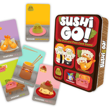Gamewright Sushi Go! - The Pick and Pass Card Game